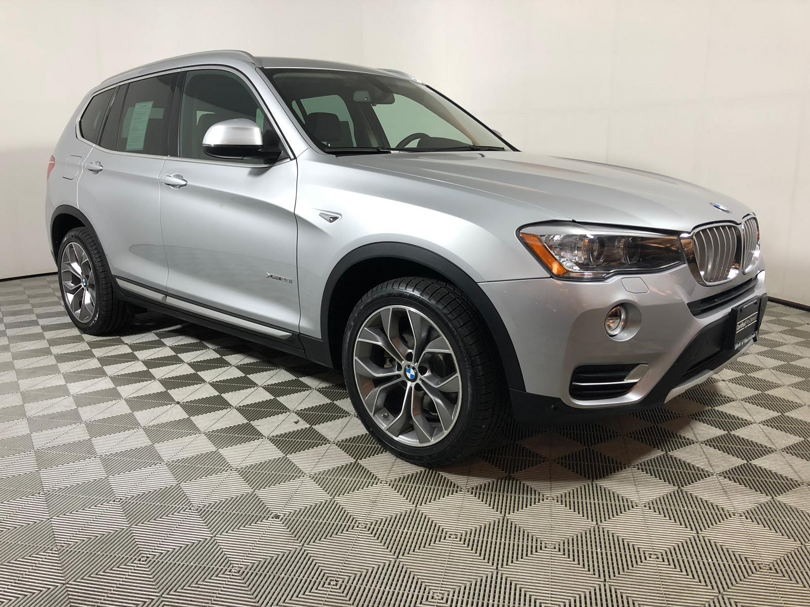 BMW Pre Owned >> Certified Pre Owned 2016 Bmw X3 Xdrive28i Awd Sport Utility