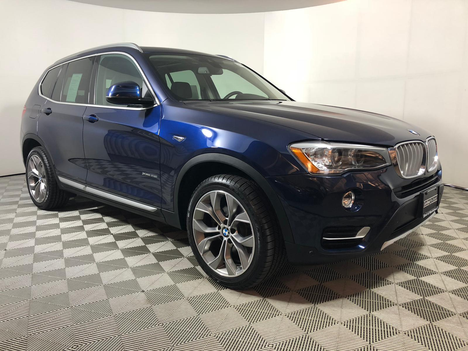 Certified Pre-Owned 2016 BMW X3 xDrive28i AWD Sport Utility