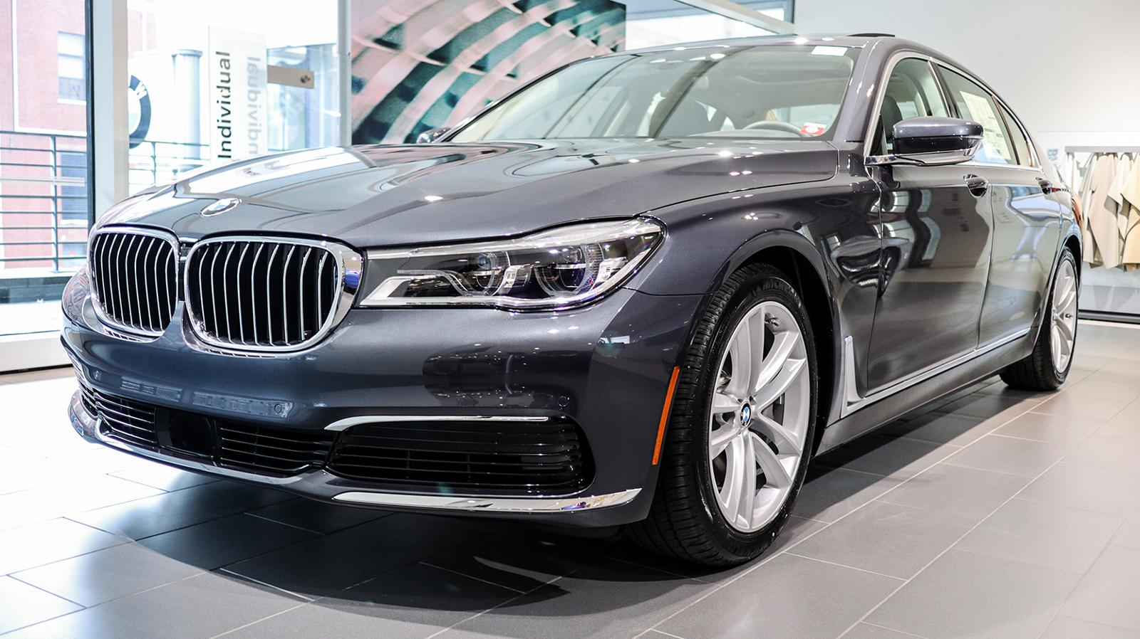 2019 Arctic Grey 750i xDrive