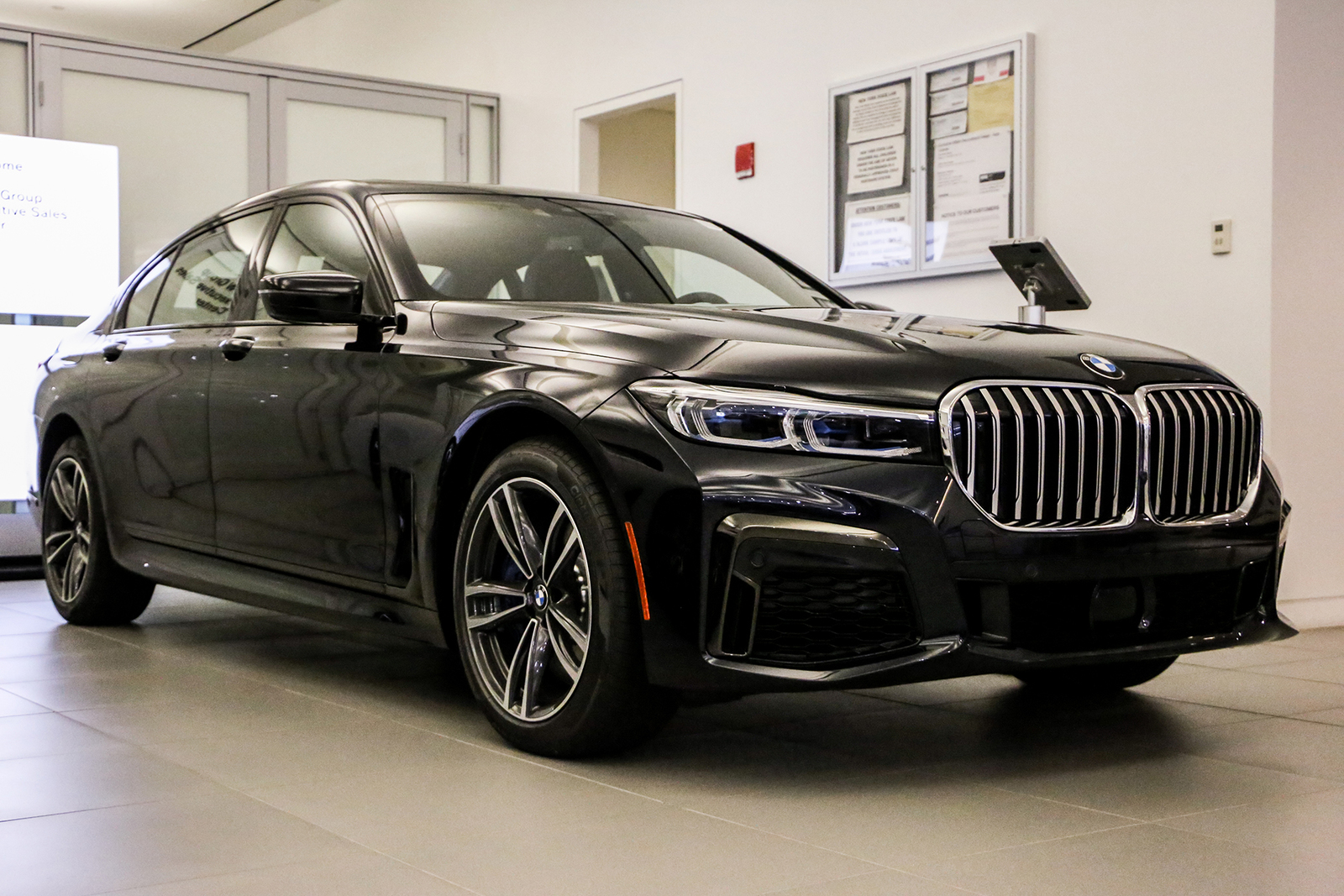New 2020 BMW 750i xDrive