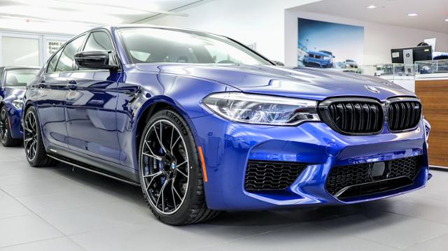 2019 Marina Bay Blue M5 Competition