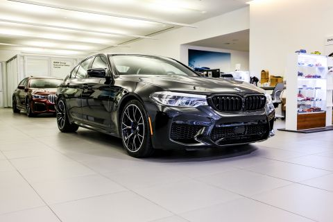 New 2019 BMW M5 Competition Sedan Competition